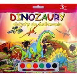 Dinozaury. Plakaty do malowania
