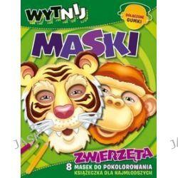 Zwierzęta. Wytnij maski