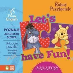 Disney English. Disney Kubuś i Przyjaciele. Let's have Fun! Colours + puzzle