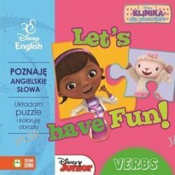 Disney English. Disney Klinika dla pluszaków. Let's have Fun! Verbs + puzzle