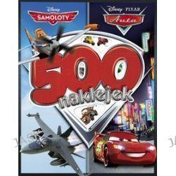 Disney PIXAR Samoloty/Auta. 500 naklejek