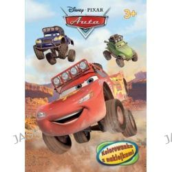 Disney PIXAR Auta. Kolorowanka z naklejkami (3+)