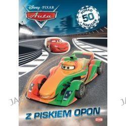 Disney PIXAR Auta. Z piskiem opon + 50 naklejek