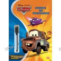 Disney PIXAR Auta. Zadania do zmazywania + ścieralny mazak