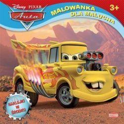 Disney PIXAR Auta. Malowanka dla malucha (3+) + naklejki