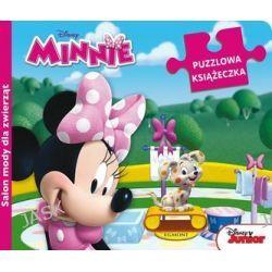 Disney Minnie. Salon mody dla zwierząt - puzzlowa książeczka -