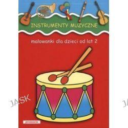 Instrumenty muzyczne - malowanka
