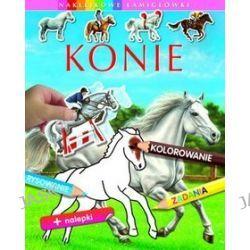 Konie. Naklejkowe łamigłówki - Emilie Beaumont