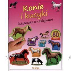 Konie i kucyki. Książeczka z naklejkami