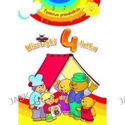 Wierszyki 4-latka. Tęczowe przedszkole - Elżbieta Lekan
