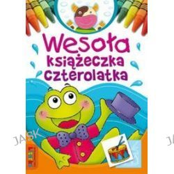 Wesoła książeczka czterolatka - Lidia Szwabowska