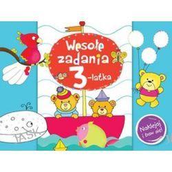 Wesołe zadania 3-latka. Naklejaj i baw się! - Anna Wiśniewska