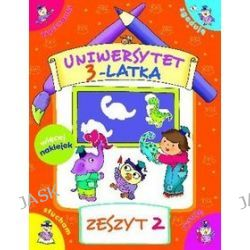 Uniwersytet 3-latka. Zeszyt 2 - Elżbieta Lekan