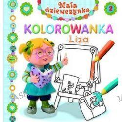 Liza. Kolorowanka. Mała dziewczynka