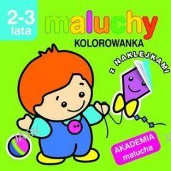 Maluchy. Kolorowanka z naklejkami. Akademia malucha 2-3 lata