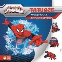 Marvel Spiderman. Koloruj i baw się. Tatuaże -