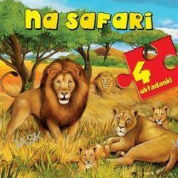 Na safari. 4 układanki - Anna Wiśniewska,