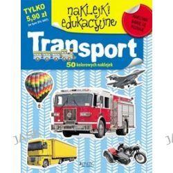 Naklejki edukacyjne. Transport + 50 kolorowych naklejek