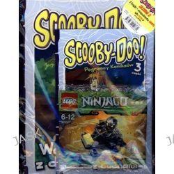 Scooby-Doo! Zestaw 2 książki + figurka LEGO