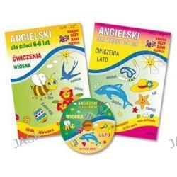 Pakiet angielski dla dzieci 6-8 lat. Ćwiczenia wiosna, lato + CD (druk/CD) - Katarzyna Piechocka-Empel