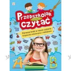 Przedszkolak uczy się czytać