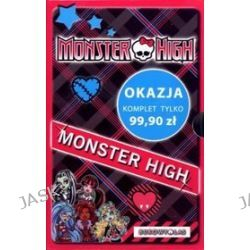 Monster High. Komplet 4 powieści + notes - Lisi