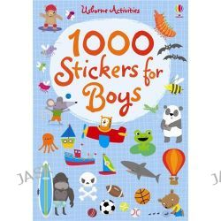 1000 Stickers for Boys, 1000s of Stickers by Fiona Watt, 9781409536512.
