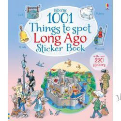 1001 Things to Spot Long Ago Sticker Book, 1001 Things by Teri Gower, 9781409583363.