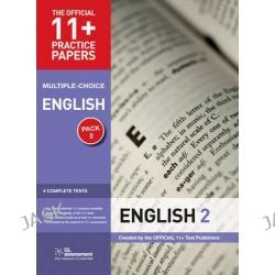 11+ Practice Papers English Pack 2 (Multiple Choice), English Test 5, English Test 6, English Test 7, English Test 8 by Gl Assessment, 9780708720462.