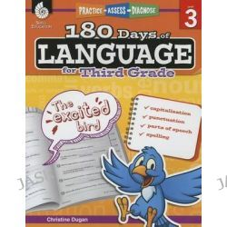 180 Days of Language for Third Grade (Level 3), Practice, Assess, Diagnose by Christine Dugan, 9781425811686.