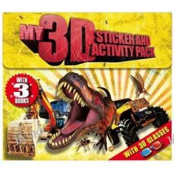 3D Sicker and Activity Wallet, Sticker and Activity Wallet, 9780857805997.