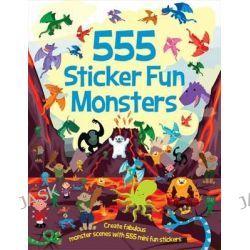 555 Sticker Fun Monsters, 555 Sticker Fun by Oakley Graham, 9781784453404.