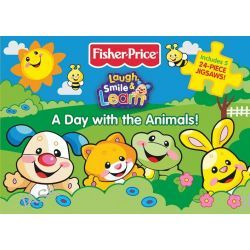 A Day with the Animals , Fisher Price Jigsaw Book by Fisher Price, 9781742486710.