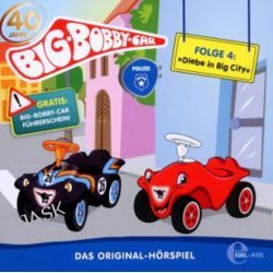 Hörbuch: (4)Original Hörspiel-Diebe In Big City