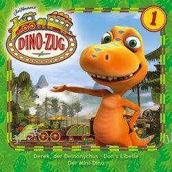 Hörbuch: Der Dino-Zug 01: Derek, der Deinonychus / Don's Libelle / Mini-Dino