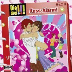 Hörbuch: Die drei !!! (11) Kuss-Alarm!
