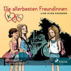 Hörbuch: Die allerbesten Freundinnen, Audio-CD  von Line Kyed Knudsen