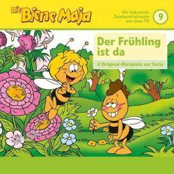 Hörbuch: Die Biene Maja 09: Der Frühling ist da, Maja die Riesin u.a.  von Eberhard Storeck,Waldemar Bonsel