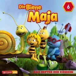 Hörbuch: Die Biene Maja (CGI) 06: Das Zepter der Königin u.a.  von Claudius Hagemeister,Jan Ullmann