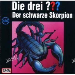 Hörbuch: Die drei ??? (120) Der schwarze Skorpion   von Alfred Hitchcock,Oliver Rohrbeck,Jens Wawrczeck