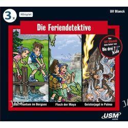 Hörbuch: Die Feriendetektive Hörbox Folgen 1-3  von Ulf Blanck