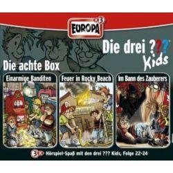 Hörbuch: Die drei Fragezeichen-Kids, 3er Box, 3 Audio-CDs. Box.8