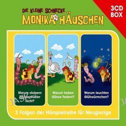 Hörbuch: Die kleine Schnecke Monika Häuschen 3-CD Hörspielbox Vol. 1 Folge 1-3  von Kati Naumann