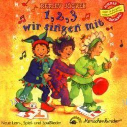 Hörbuch: Eins, zwei, drei wir singen mit. CD  von Detlev Jöcker