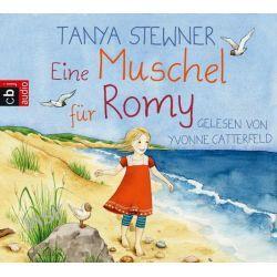 Hörbuch: Eine Muschel für Romy  von Tanya Stewner