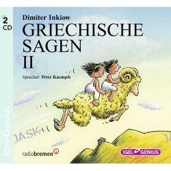 Hörbuch: Griechische Sagen 2. 2 CDs  von Dimiter Inkiow