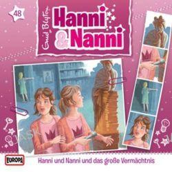 Hörbuch: Hanni und Nanni 48 und das große Vermächtnis  von Enid Blyton