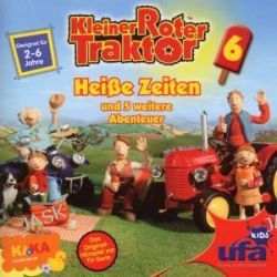 Hörbuch: Kleiner roter Traktor 6,Audio