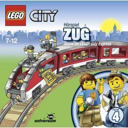 Hörbuch: LEGO City 04 Zug  von Antje Seibel,Frank Gustavus