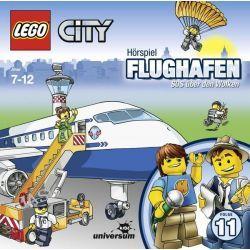 Hörbuch: LEGO City 11: Flughafen  von Antje Seibel,Frank Gustavus